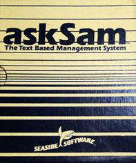 askSam manual 1989