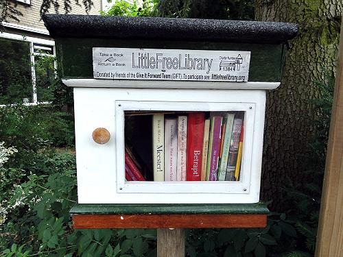 kleine gratis bibliotheek zutphen