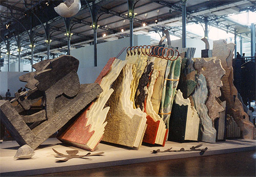 Claes Oldenburg: From the Entropic Library, 1989