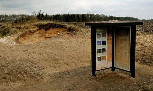 Aardkundig monument Donderen, 2013