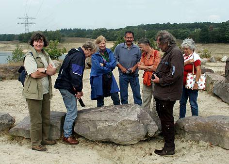 rondleiding maarn, sept. 2003, foto wim hoogendoorn