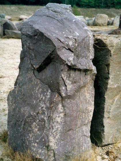 Zwerfsteneneiland Maarn 2003