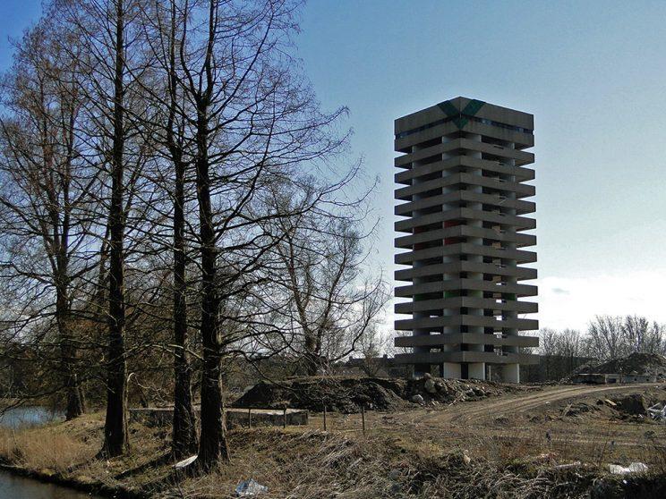 Toren groen, apr. 2014