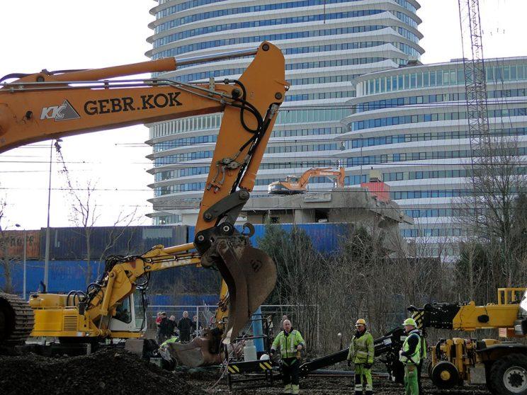 DUO feb. 2012, spoorwerkzaamheden