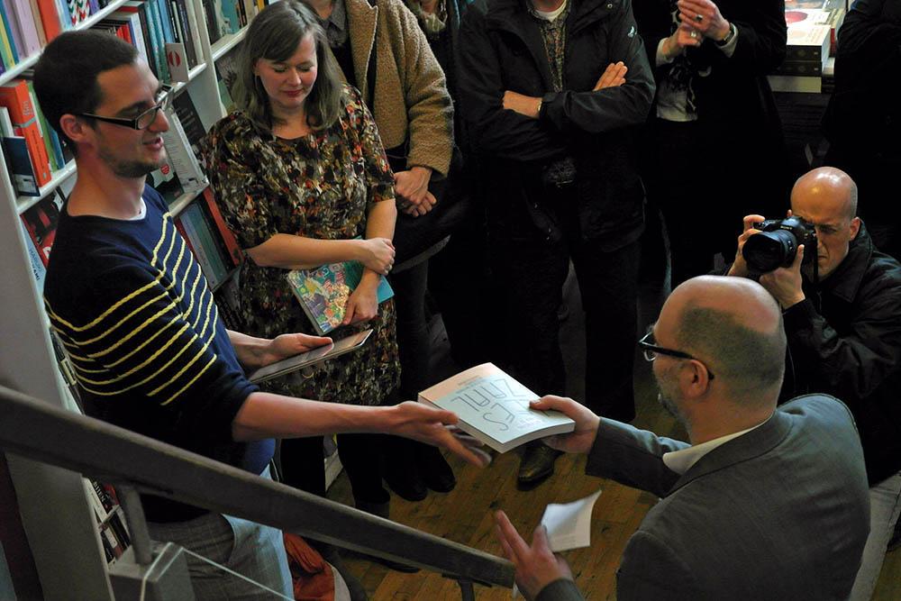 Maurice Specht en Bas Kwakman, De uitvinding van de Leeszaal, Rotterdam 20 maart 2015