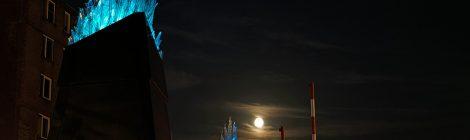 Nachtkijker (1): bijna volle maan