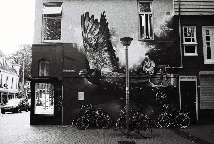 Vervlogen tijden, Groningen aug 2015 (Minolta Dynax4, Ilford HP 5 Plus z-w film)