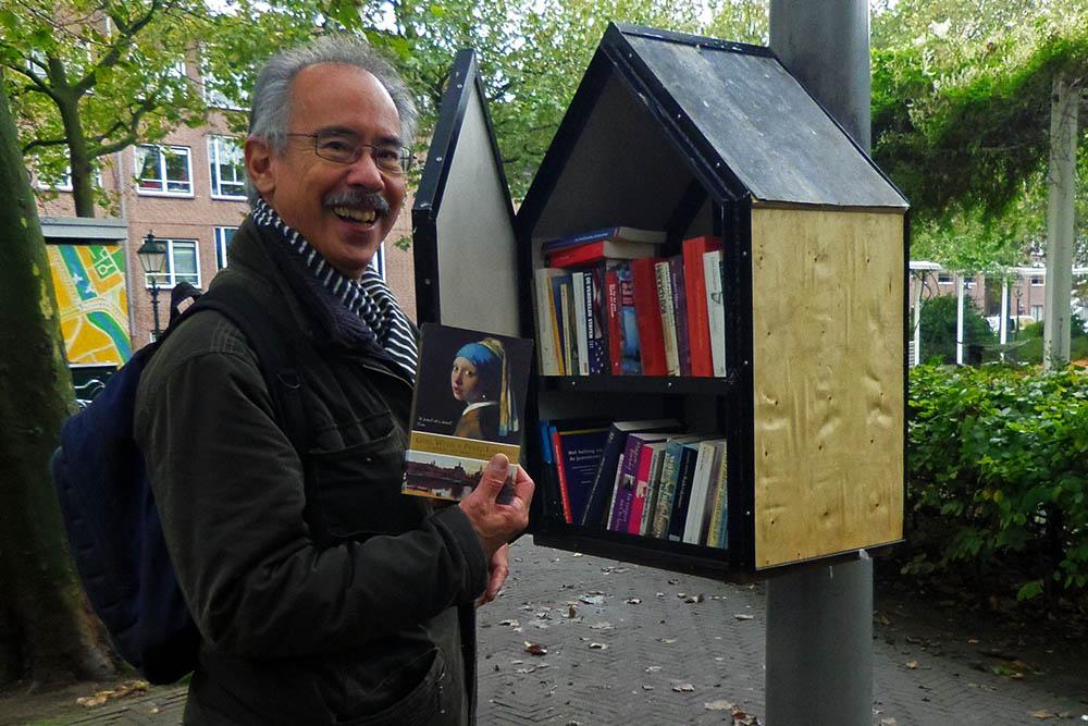 minibieb, Den Haag 17 okt 2015