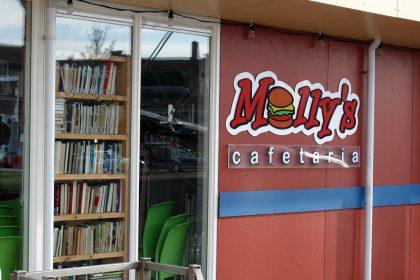 Molly's cafetaria, Harlingen 3 nov 2015