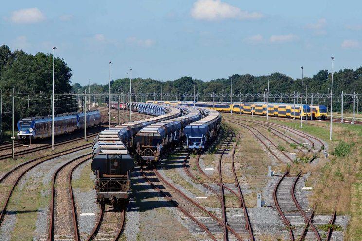 spoorviaduct Glimmen