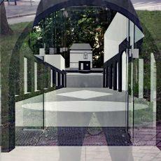 Tschumipaviljoen: De Achterkant